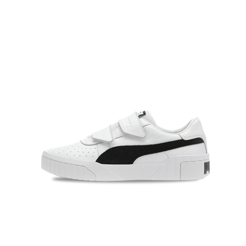 official supplier exclusive shoes on feet images of PUMA CALI VELCRO BLK/WHT x SG (WMNS)